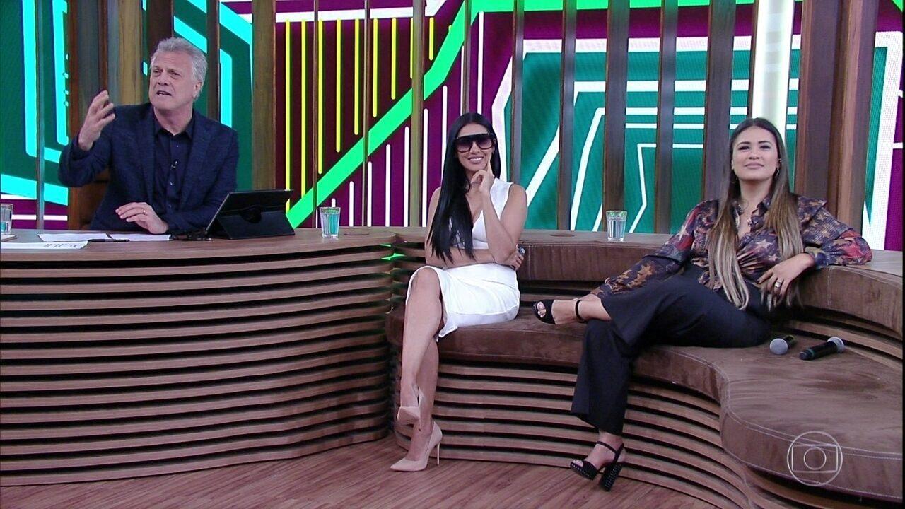 Simone e Simaria relembram participação no 'Altas Horas'
