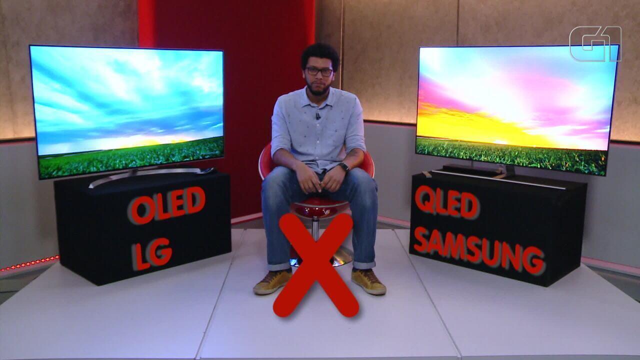 Comparativo de TVs: OLED x QLED chega ao Brasil