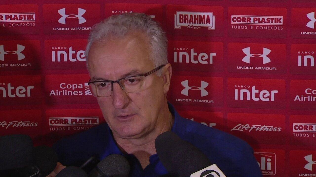 Entrevista coletiva do técnico Dorival Júnior após Chapecoense 2x0 São Paulo
