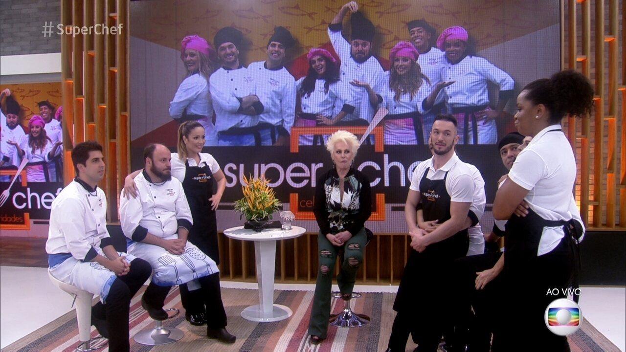 Ana Maria anuncia repescagem no Super Chef Celebridades