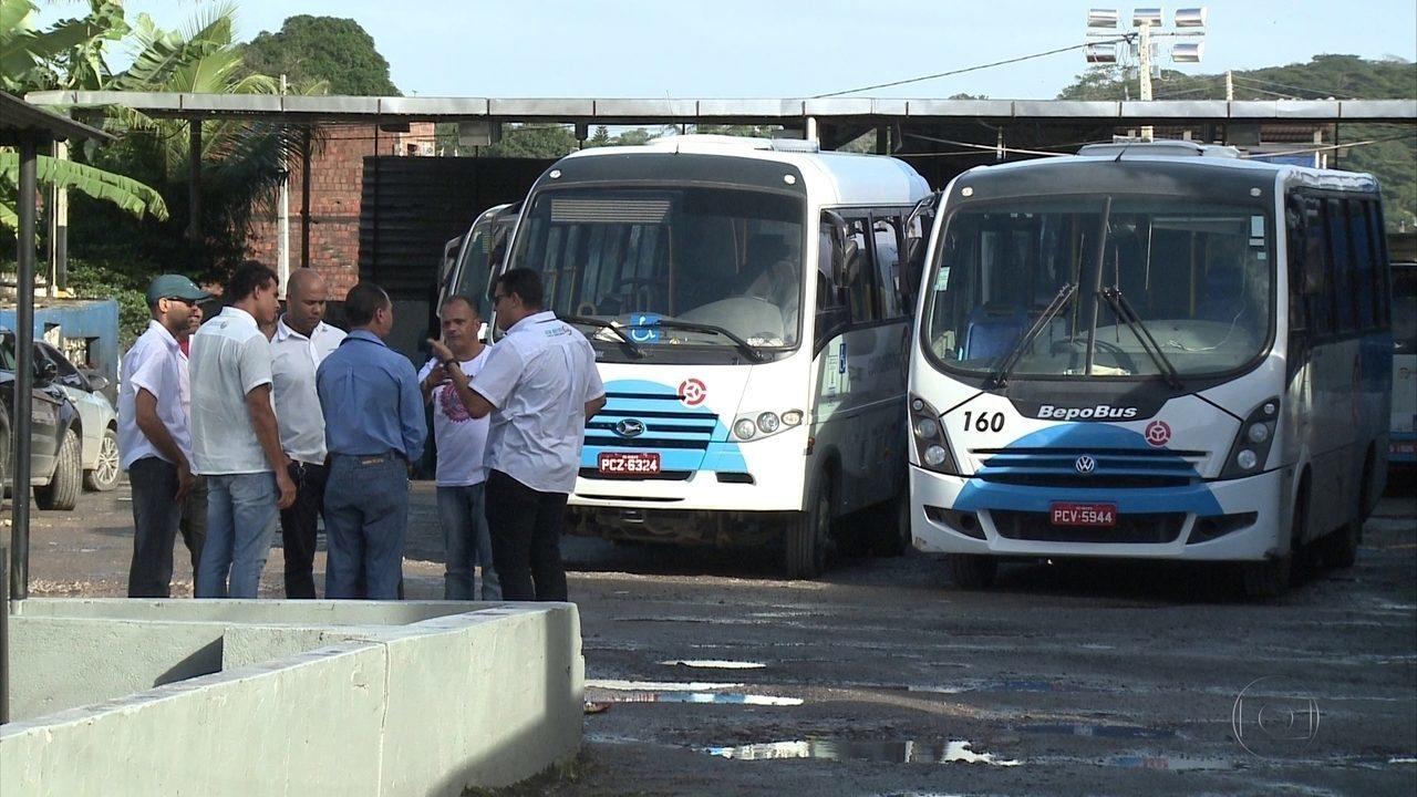 Acordo encerra paralisação dos motoristas de transporte complementar