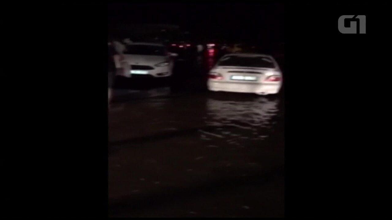 Vídeo mostra inundação em Bodrum, na Turquia, após terremoto