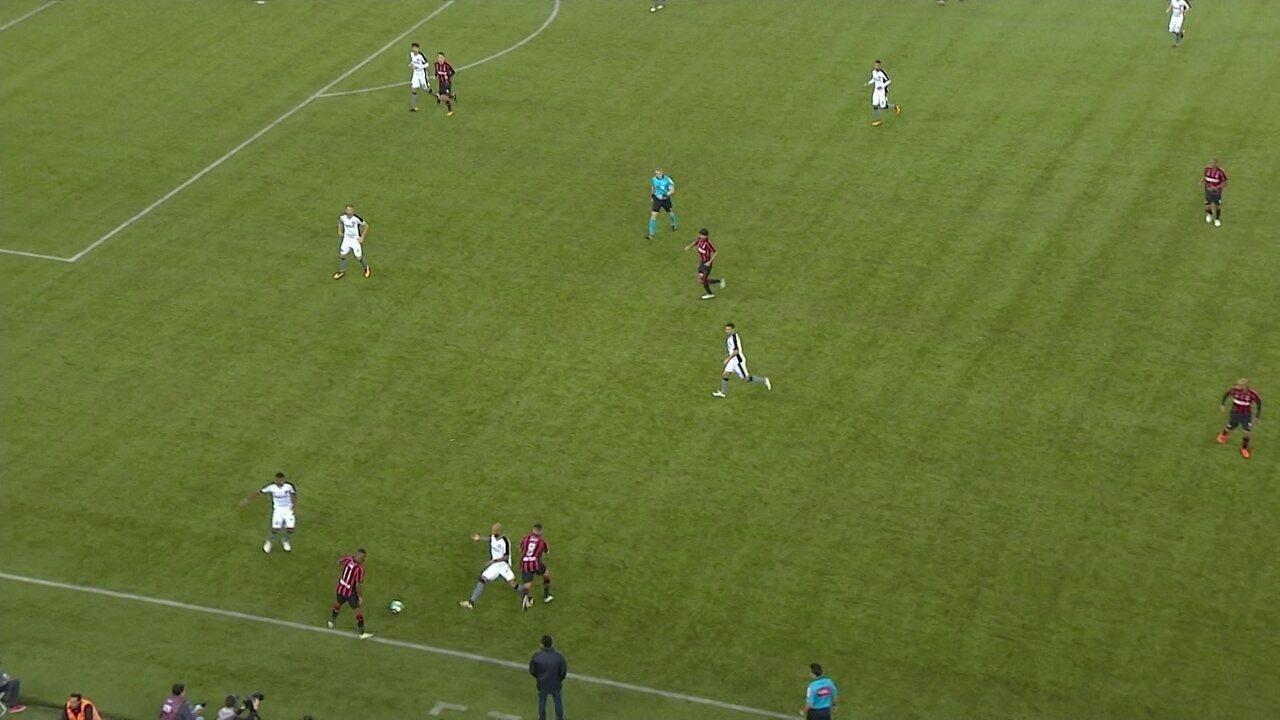 Melhores momentos: Atlético-PR 0 x 0 Botafogo pela 15ª rodada do Campeonato Brasileiro