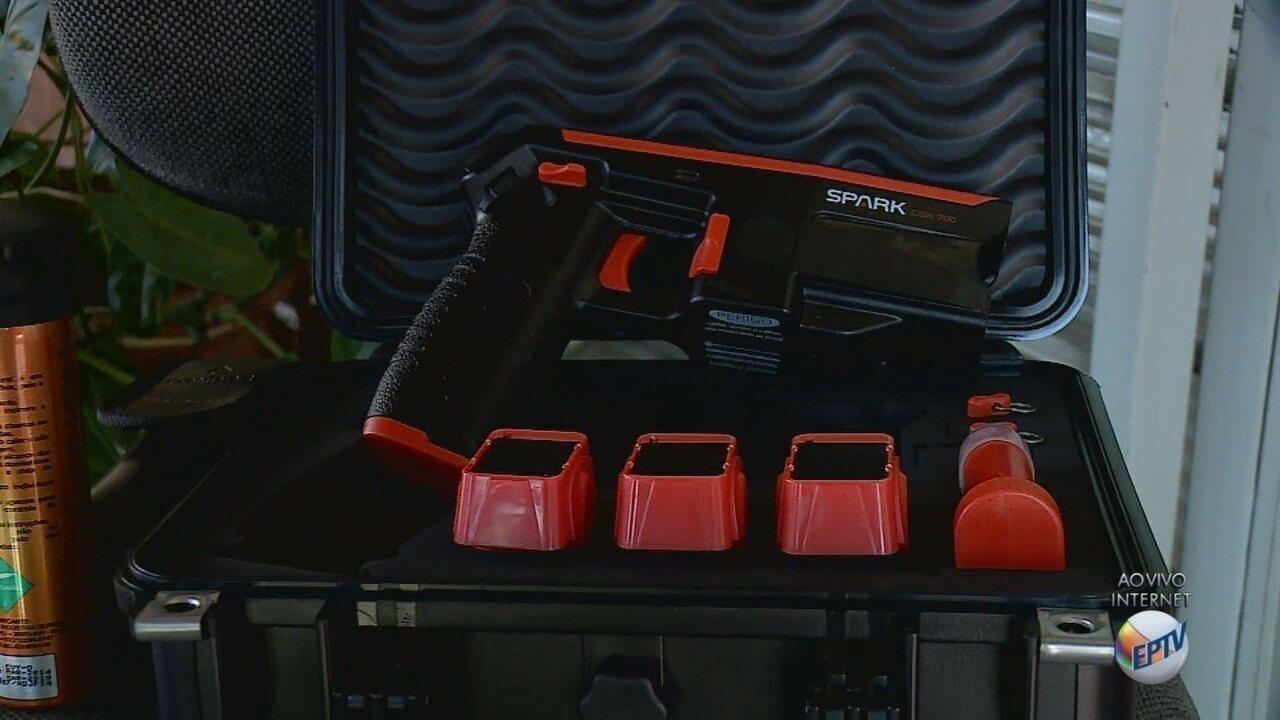 Guardas civis passarão a utilizar armas não letais em Ribeirão Preto