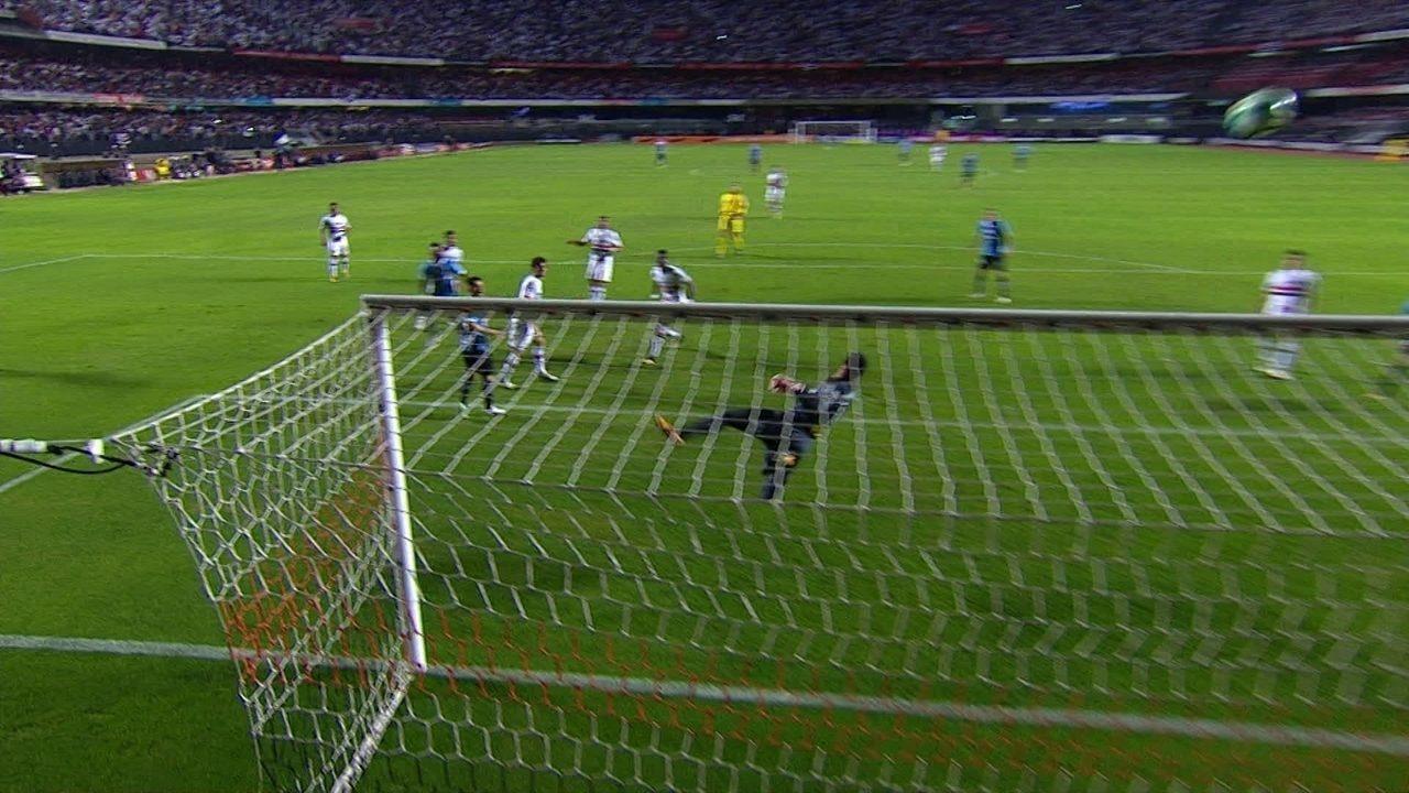 Los mejores momentos del Sao Paulo 1 x 1 Grêmio en la 16 ronda del Campeonato Brasileño