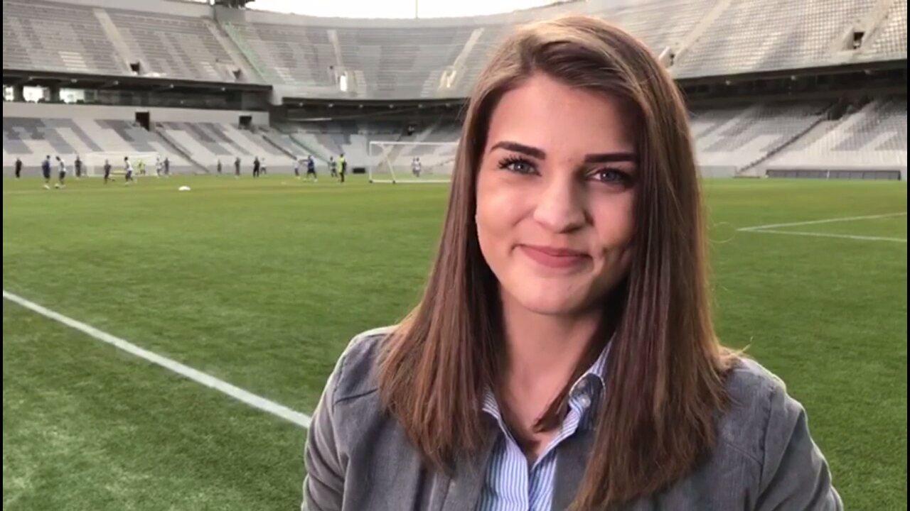 Por Dentro Do Treino Deles Gabriela Ribeiro Conta Como Foi O Treino Do Grêmio Na Baixada