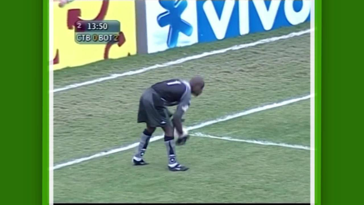 Relembre imagens do ex-goleiro Max com a camisa do Botafogo