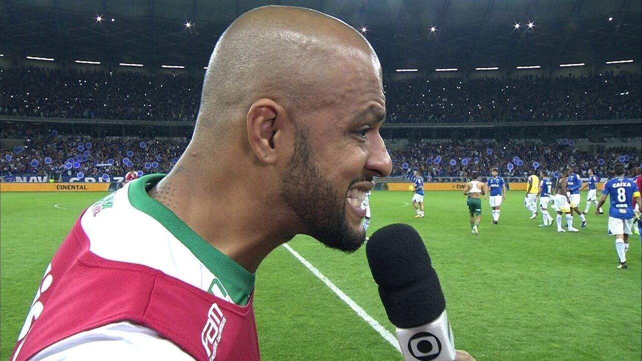 Mattos confirma que Felipe Melo não joga mais pelo Palmeiras