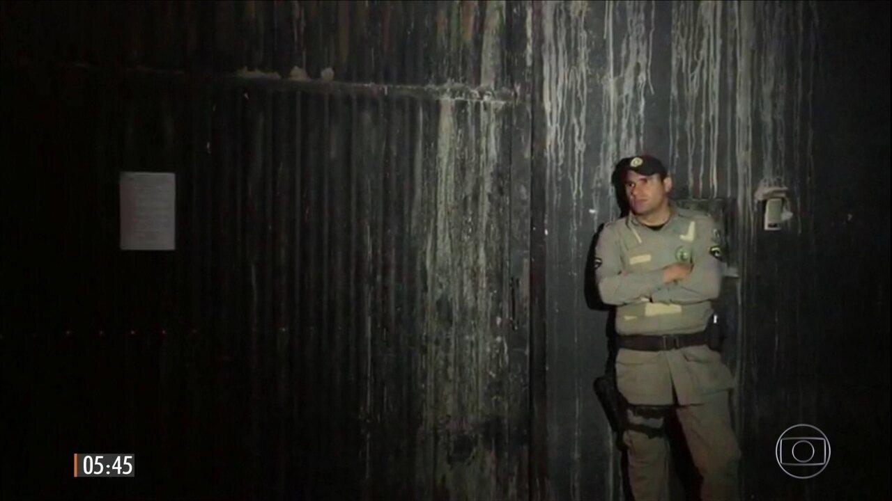 Seis detentos morrem em rebelião em presídio de GO