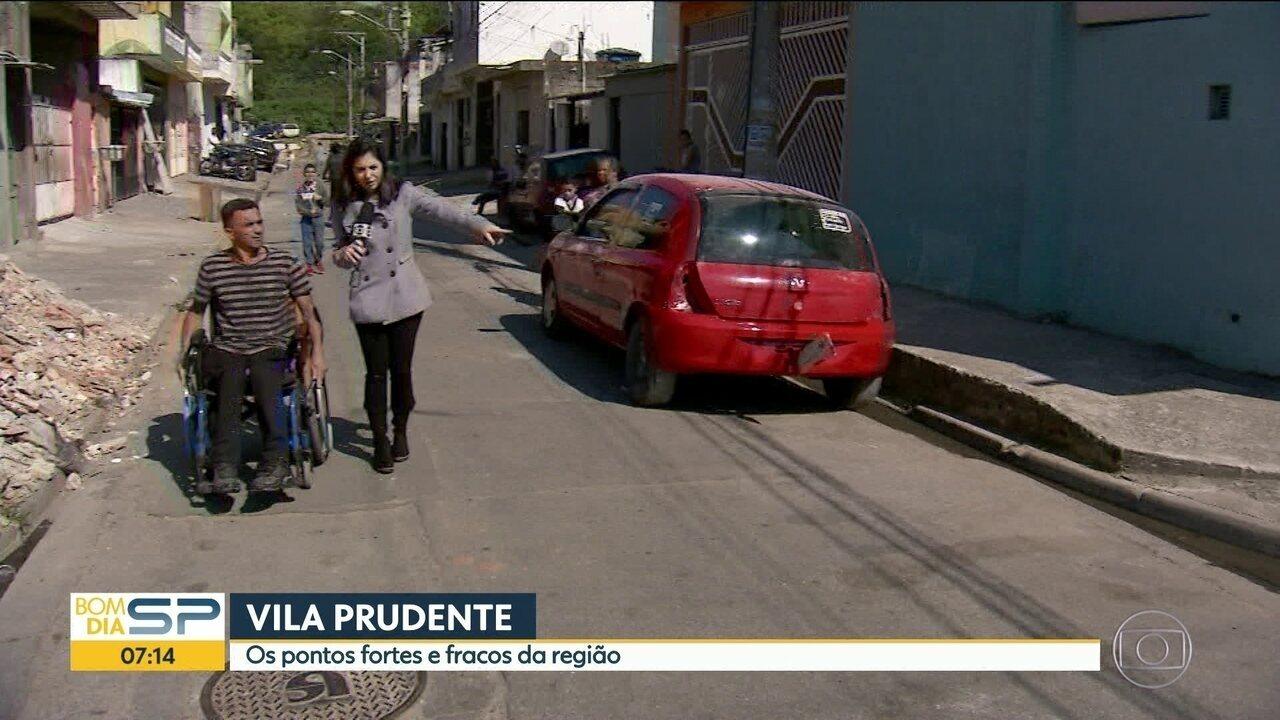 Moradores avaliam serviços da prefeitura regional da Vila Prudente