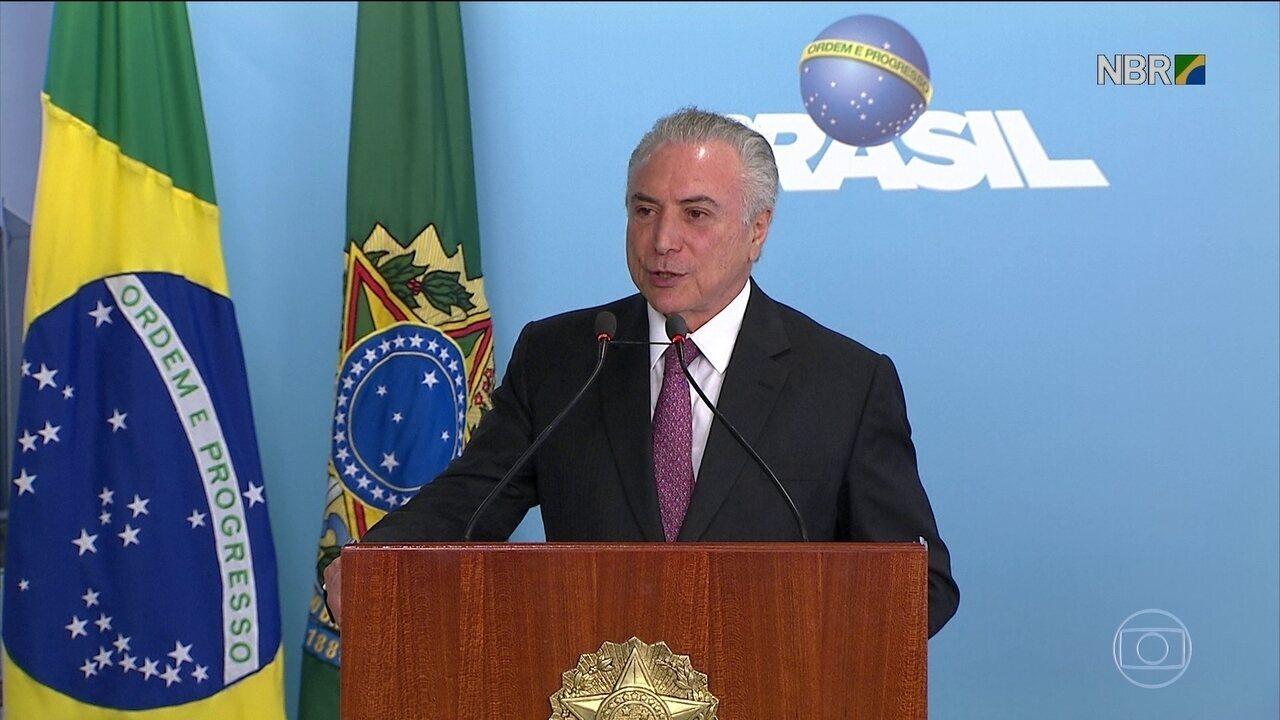 Temer anuncia assinatura dos contratos de concessão de quatro aeroportos