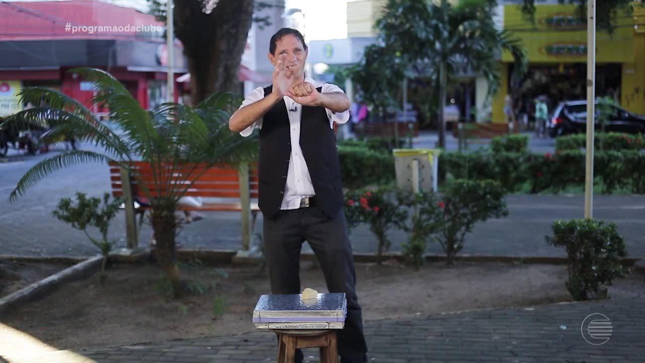 Manda Ver: Paulista Rick Lopes é mágico de rua
