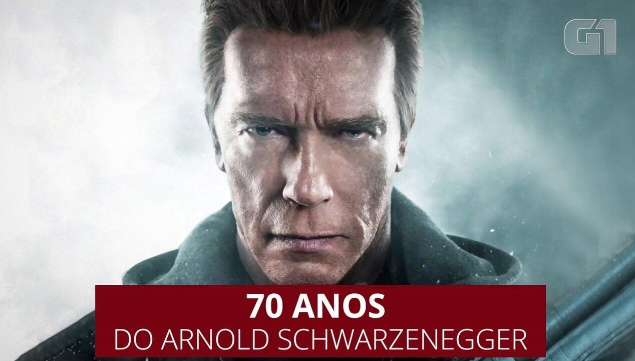 Stallone homenageia Schwarzenegger em discurso emocionante de aniversário