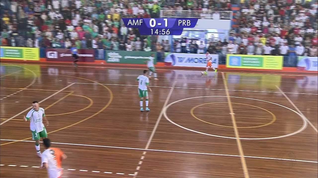 Confira os gols de Paranaíba 2 x 2 Amigos Futsal, pela final da Copa Morena de futsal