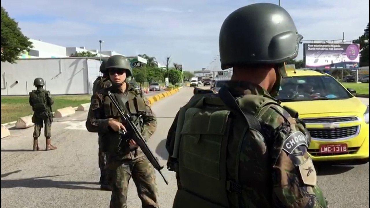 Força Nacional de Segurança causa sensação de segurança ao carioca