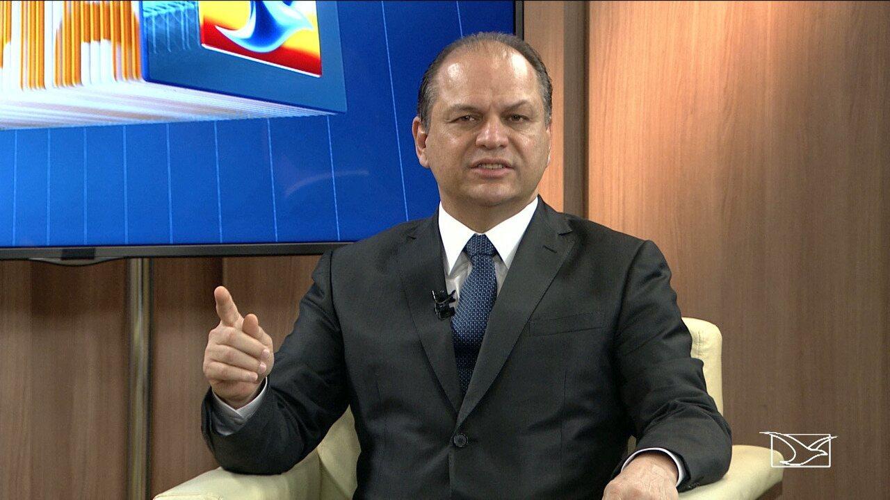 Ministro da Saúde, Ricardo Barros, está em São Luís e é entrevistado no Bom Dia Mirante