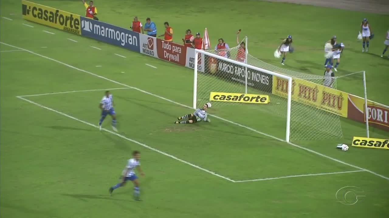 CSA consegue importante vitória em cima do Botafogo-PB, no Rei Pelé