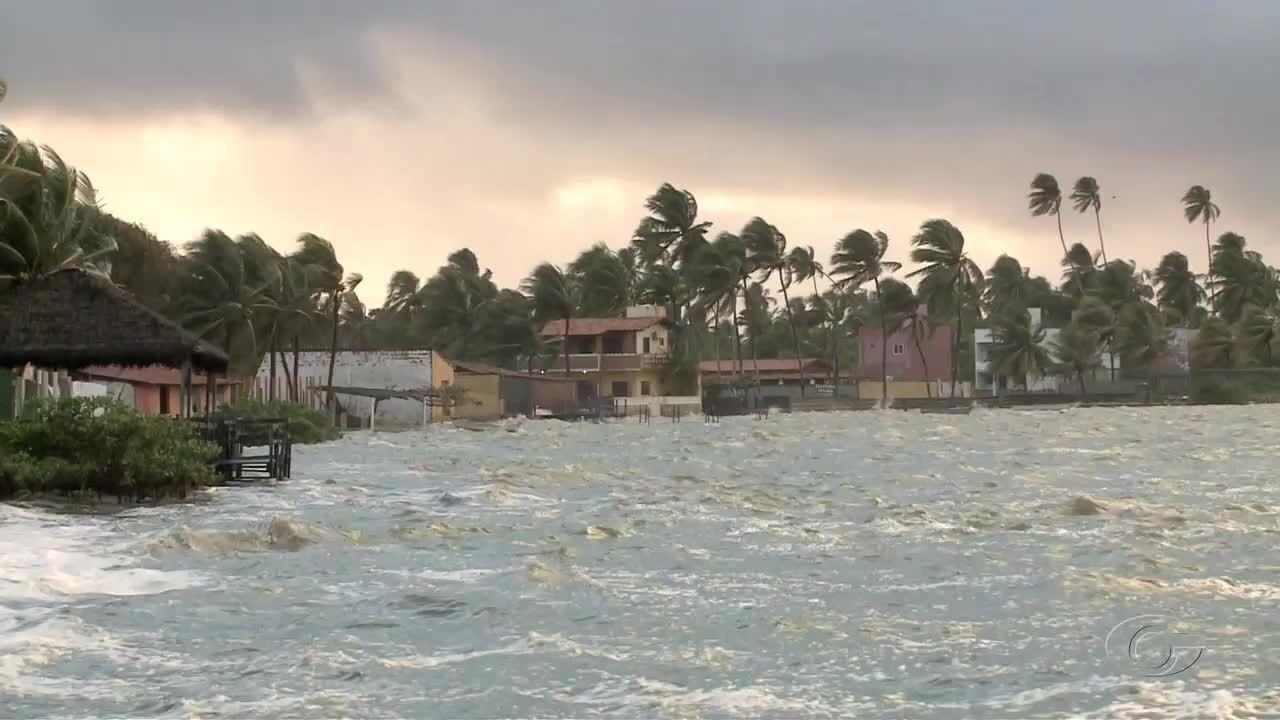 Capitania dos Portos alerta para ressaca no mar no litoral de Alagoas