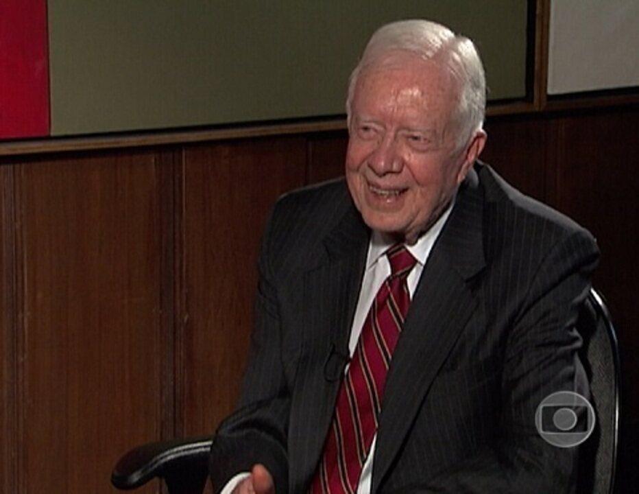Jornal da Globo: Entrevista com Jimmy Carter (2009)