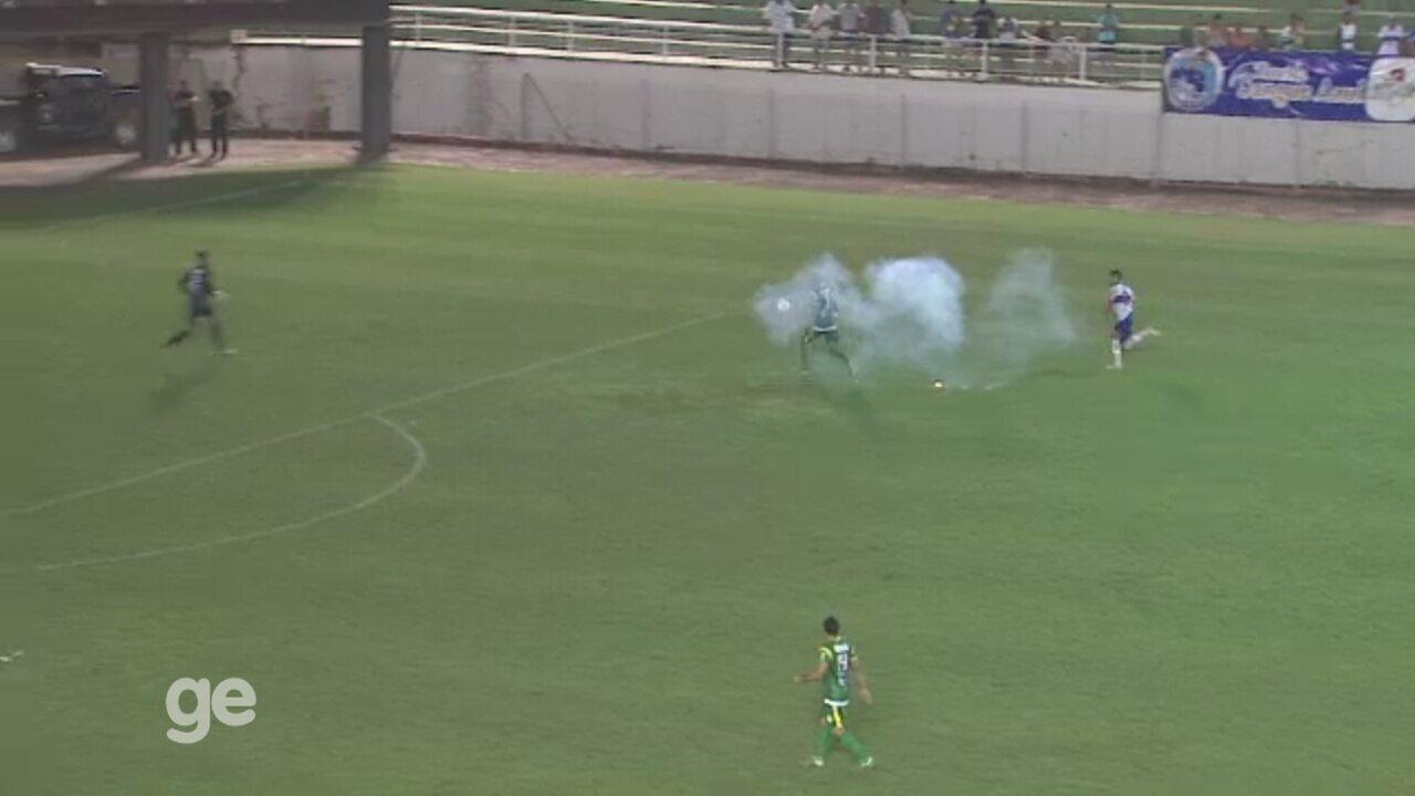 Árbitro relata em súmula ocorrências durante jogo entre Atlético-AC x Gurupi, na Série D