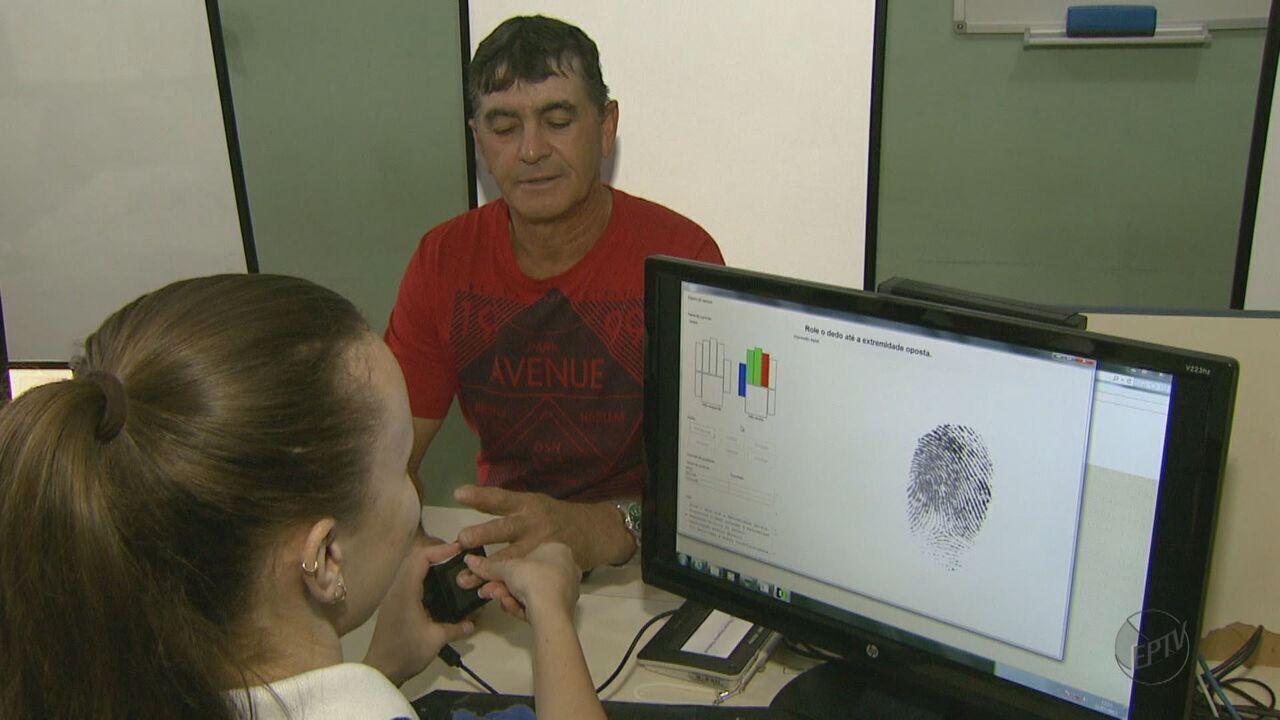 Eleitores de 7 cidades da região precisam realizar o cadastramento biométrico