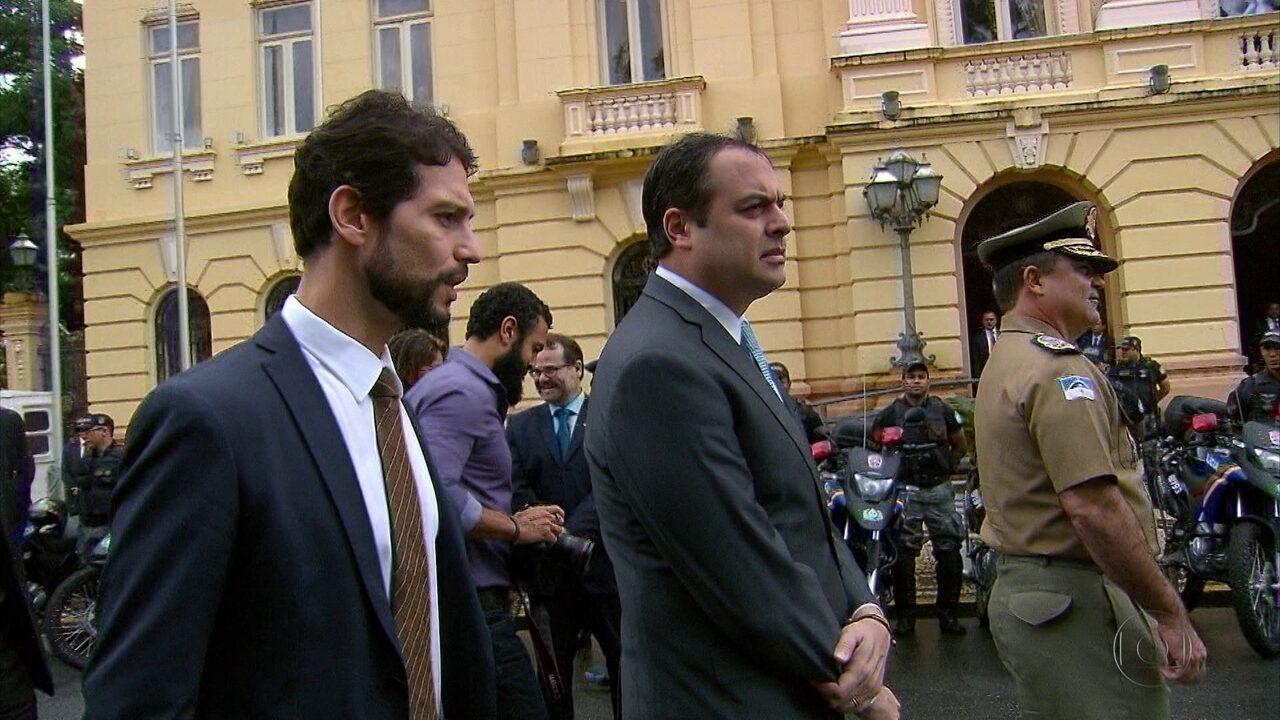 Paulo Câmara descarta presença das Forças Armadas para reforçar segurança em PE
