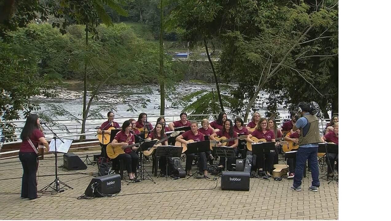 Orquestra toca canções tradicionais em homenagem aos 250 anos de Piracicaba