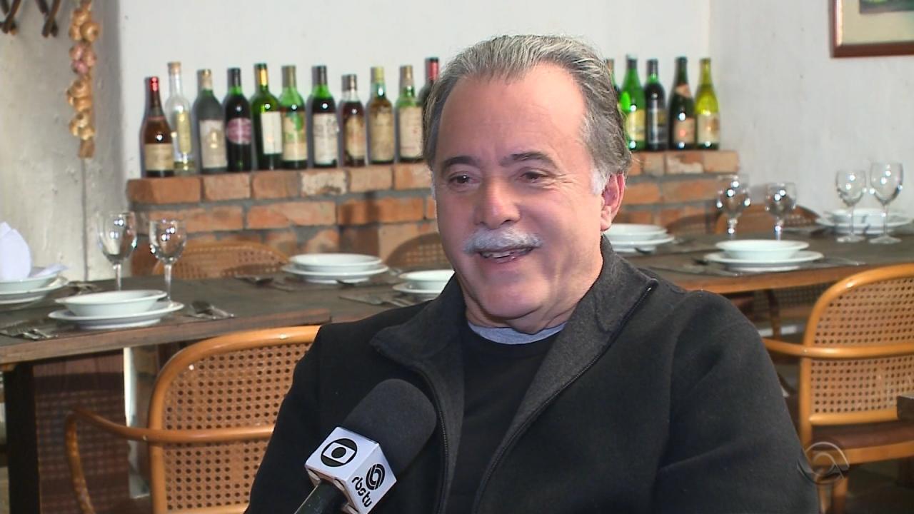 Tony Ramos agradece carinho recebido pelos gaúchos durante a gravação de 'Tempo de Amar'