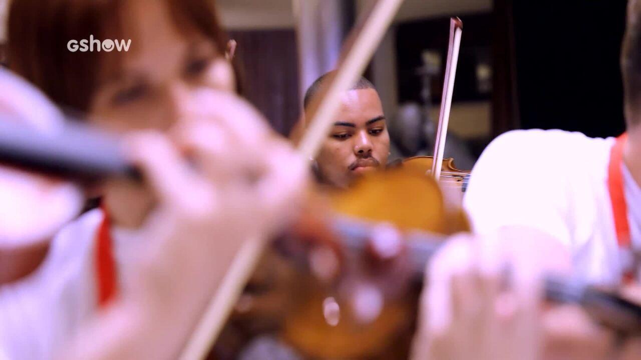 Orquestra da Mare conta como foi tocara para o Papa Francisco