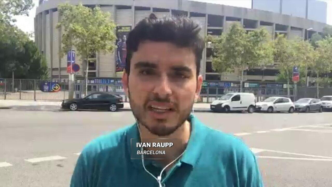Ivan Raupp apura planejamento do PSG sobre contratação de Neymar