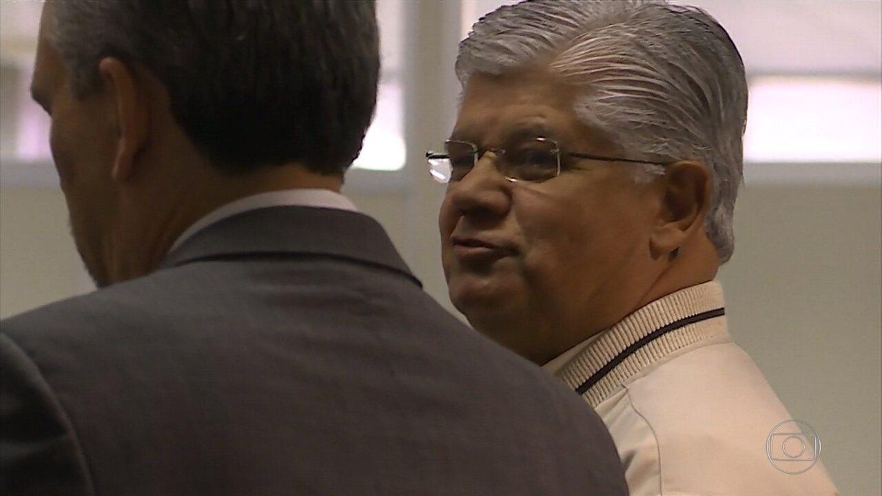 Ex-vice-governador e ex-senador Clésio Andrade (PMDB) é interrogado no mensalão tucano