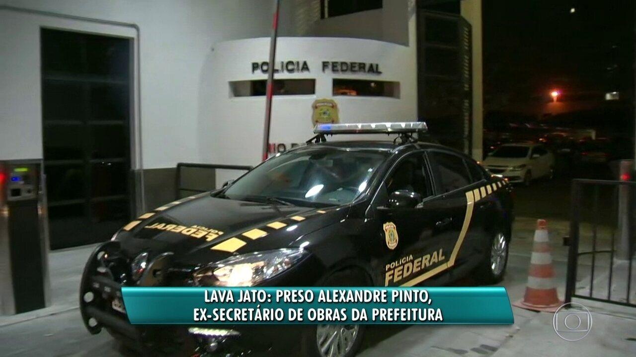 Ex-secretário de obras do Rio, Alexandre Pinto está preso na Operação Lava-Jato