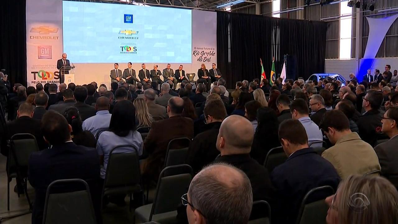 GM anuncia R$ 1,4 bilhão para expansão da unidade de Gravataí