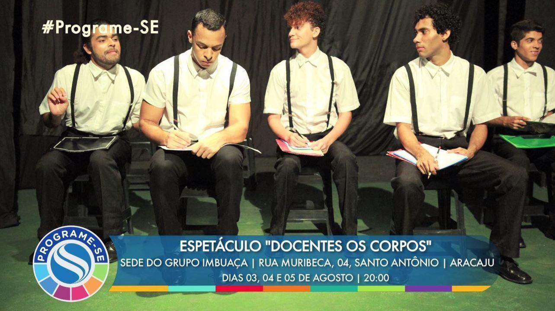 'Programe-SE' desta semana destaca espetáculos teatrais e muito mais