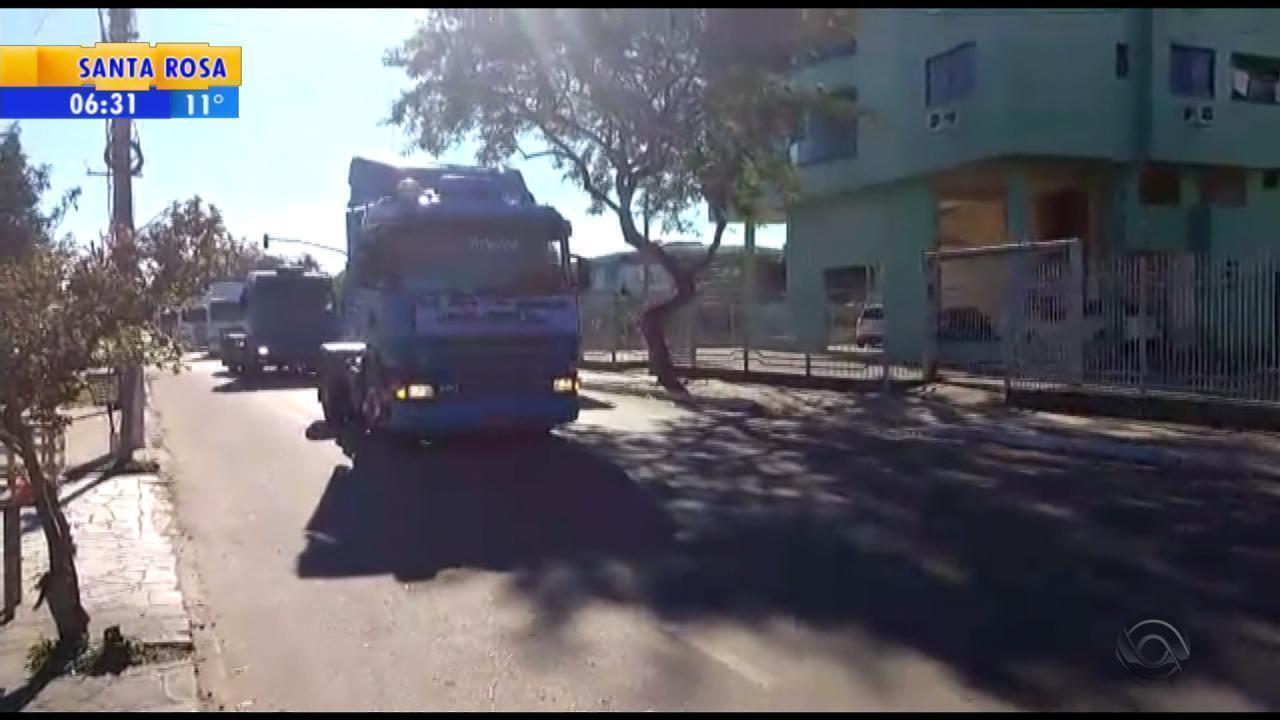 Caminhoneiros fazem novos protestos no RS