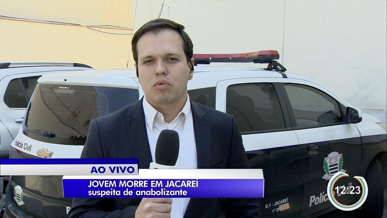 Polícia apura morte de jovem por suspeita de uso de anabolizantes em Jacareí