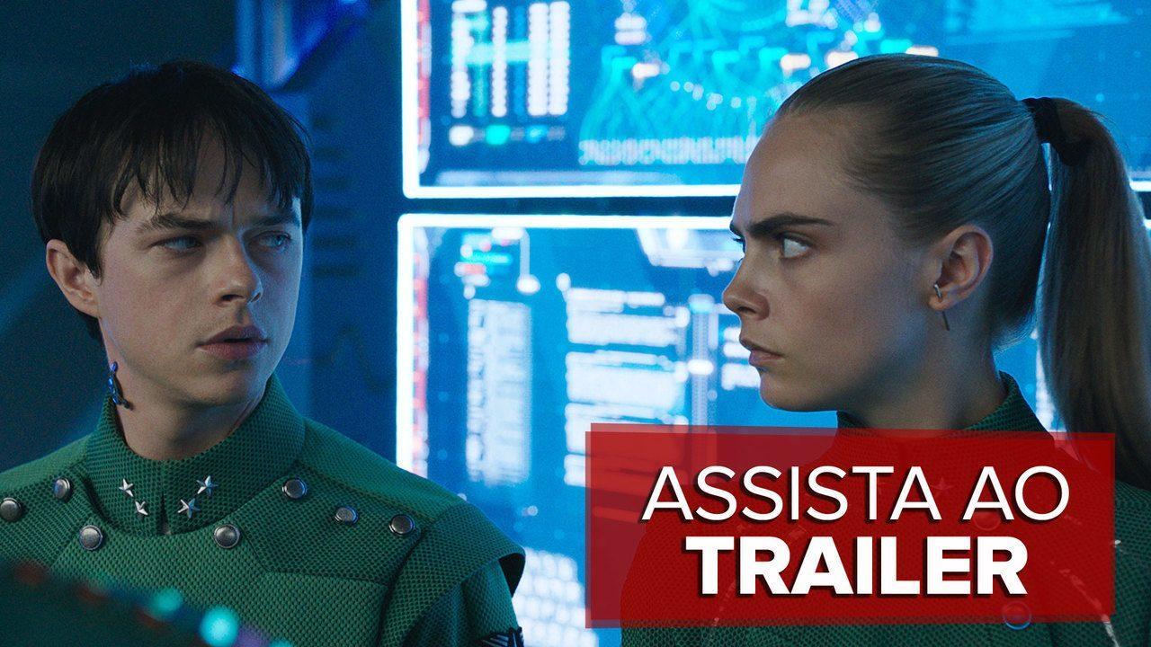 Assista ao trailer de 'Valerian e a Cidade dos Mil Planetas', de Luc Besson