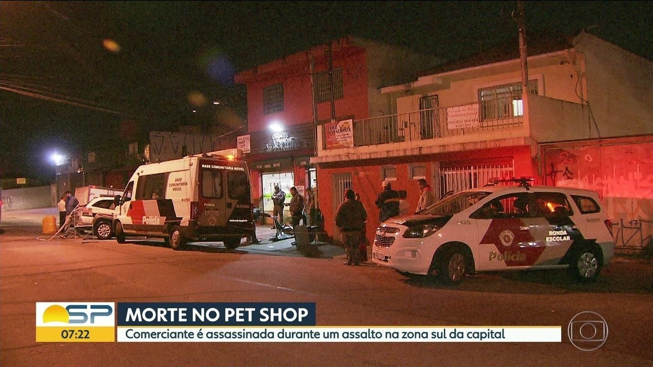 Dona de pet shop é morta durante assalto no Jabaquara
