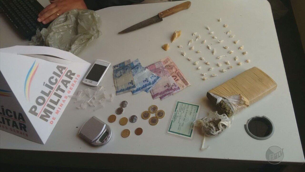 Suspeitos são presos por tráfico de drogas em seis bairros de Varginha, MG