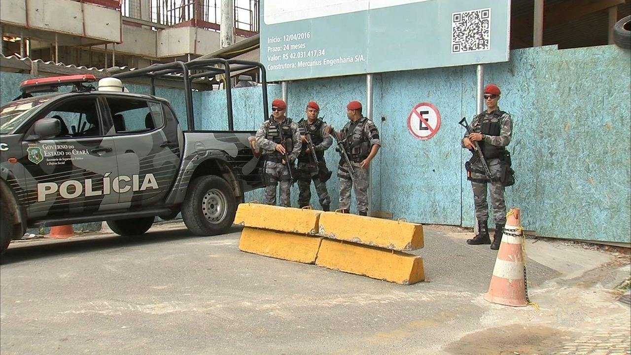 Líder do assalto ao Banco Central segue hospitalizado sob forte escolta policial