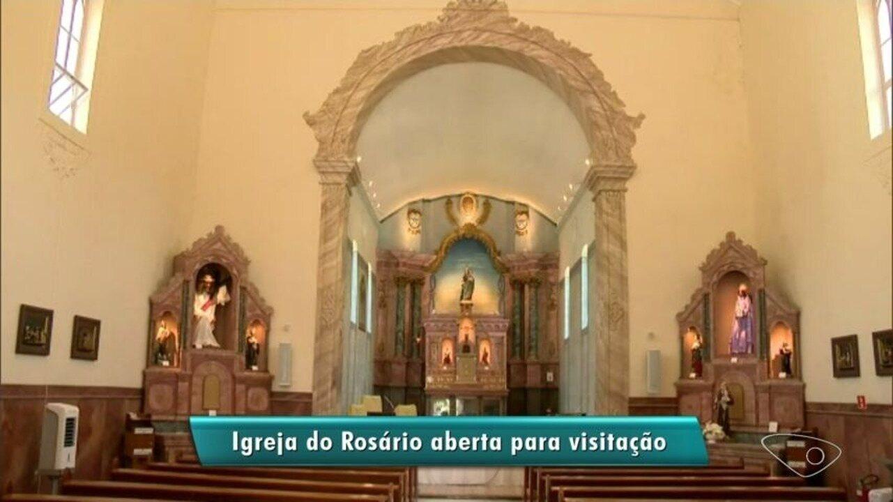 Igreja mais antiga do país abre as portas para visitação no ES