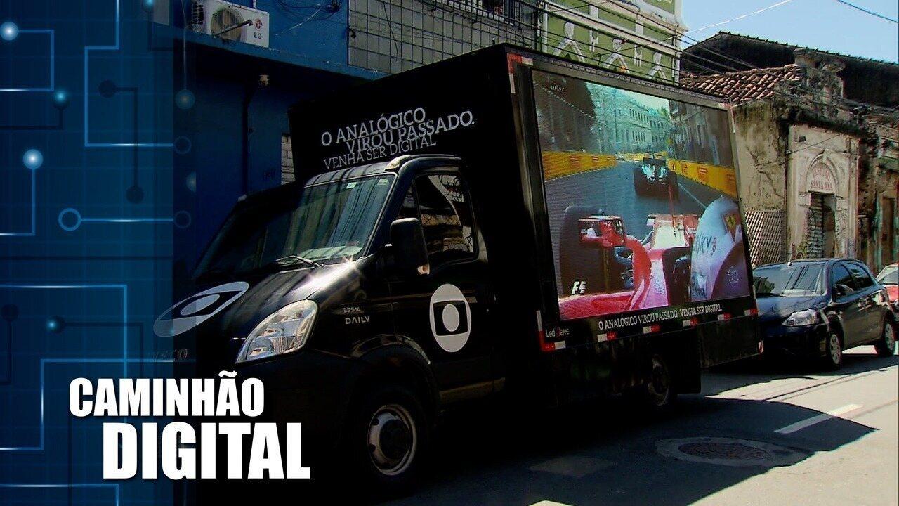 Caminhão Digital estará em Caucaia nos dias 11, 12 e 13 de agosto