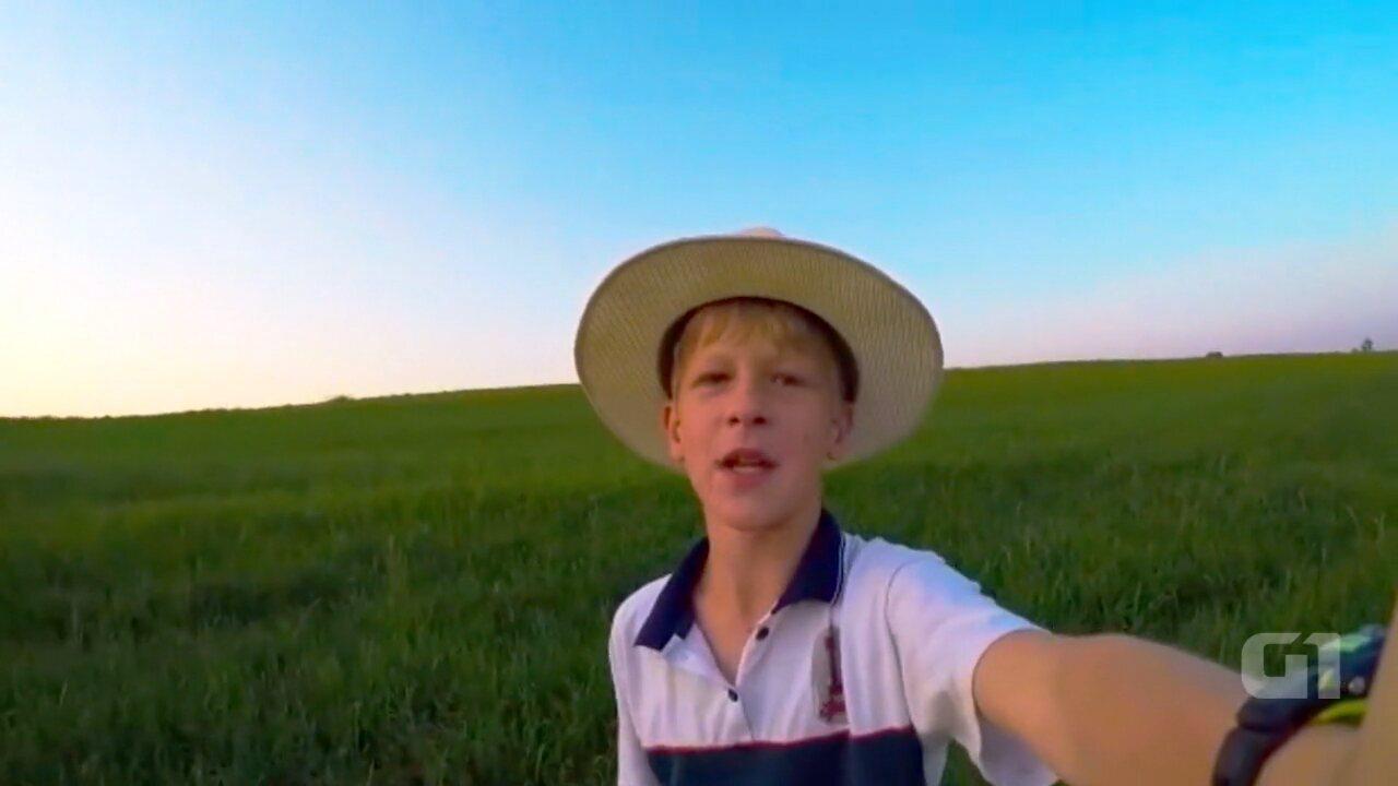 Após viralizar na internet, youtuber da roça faz vídeo com homenagem ao pai: 'inspiração'