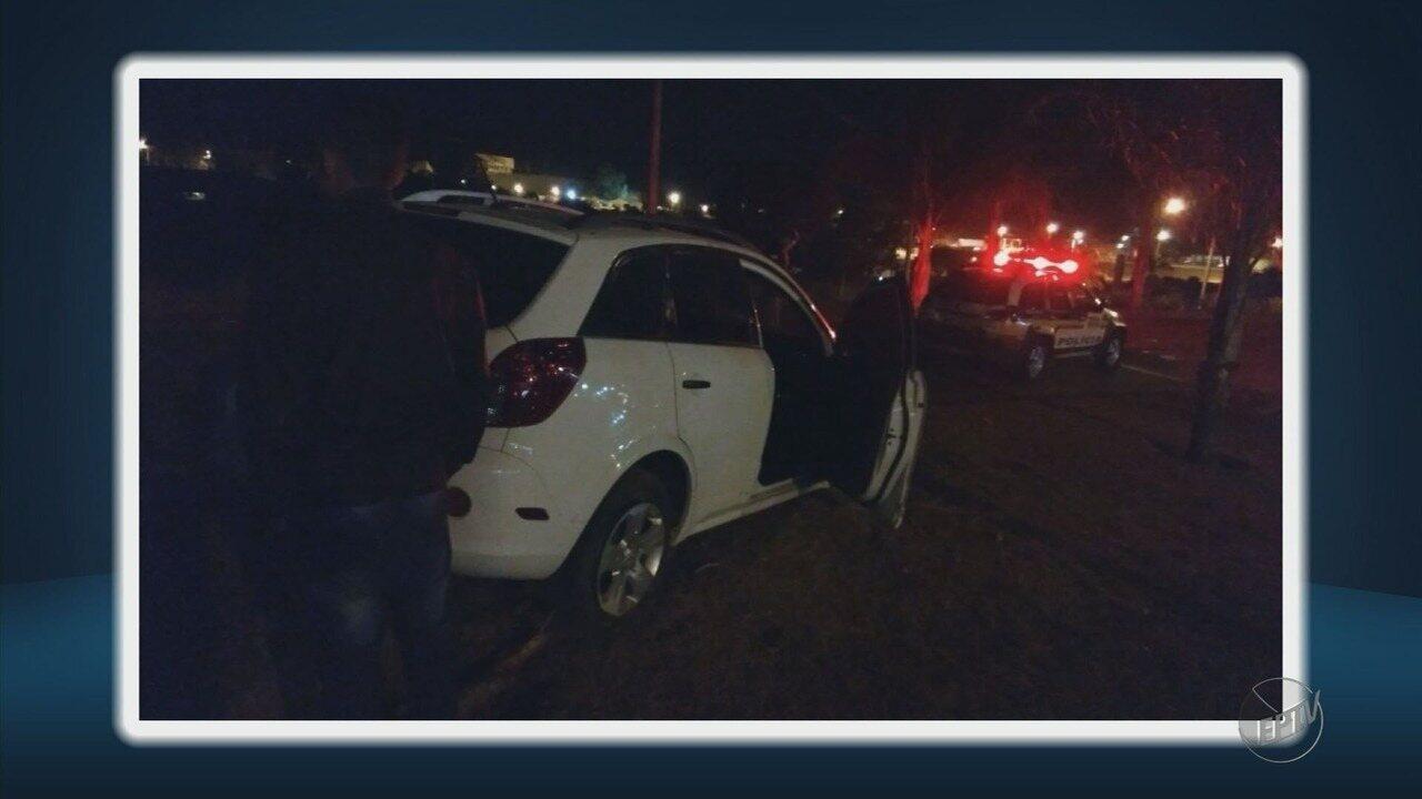 Mulher é baleada durante perseguição policial em Santo Antônio do Amparo (MG)