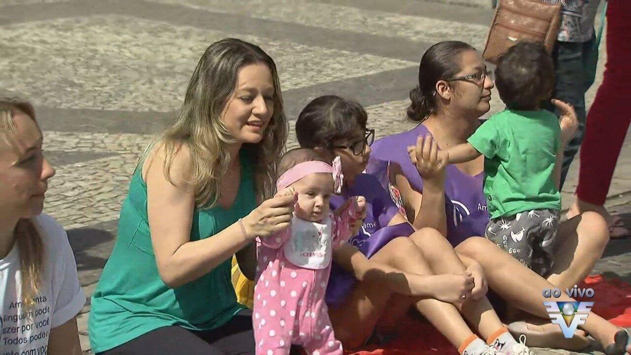 CRAS realizará o encerramento da Semana do Aleitamento Materno