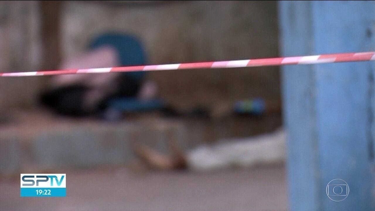 Três moradores de ruya são mortos a tiros na Zona Sul da capital
