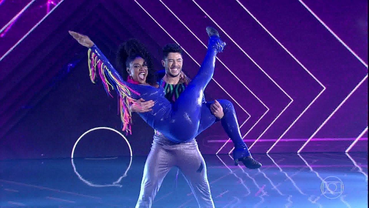 Cris Vianna é a primeira a se apresentar no 'Dança dos Famosos'