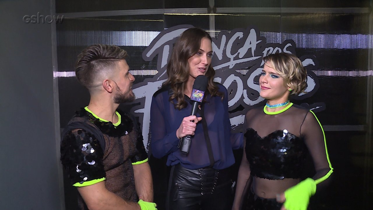 Isabella Santoni repercute o Ranking da primeira semana do 'Dança dos Famosos'