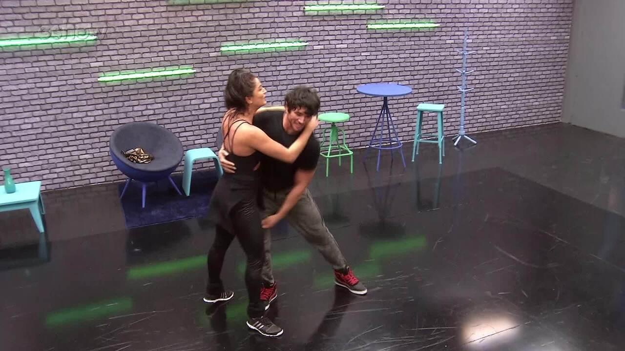 Veja como foi a primeira semana de ensaios de Maria Joana no 'Dança dos Famosos'