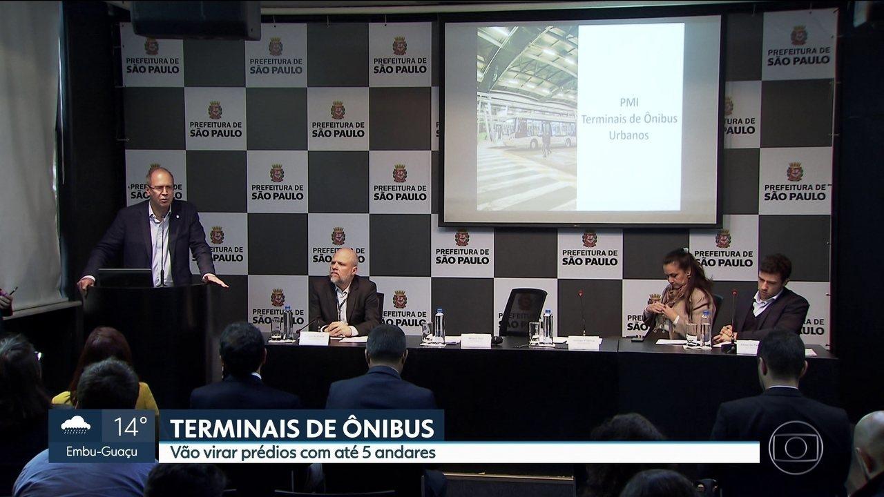Prefeitura vai convidar empresas interessadas em administrar 27 terminais de ônibus